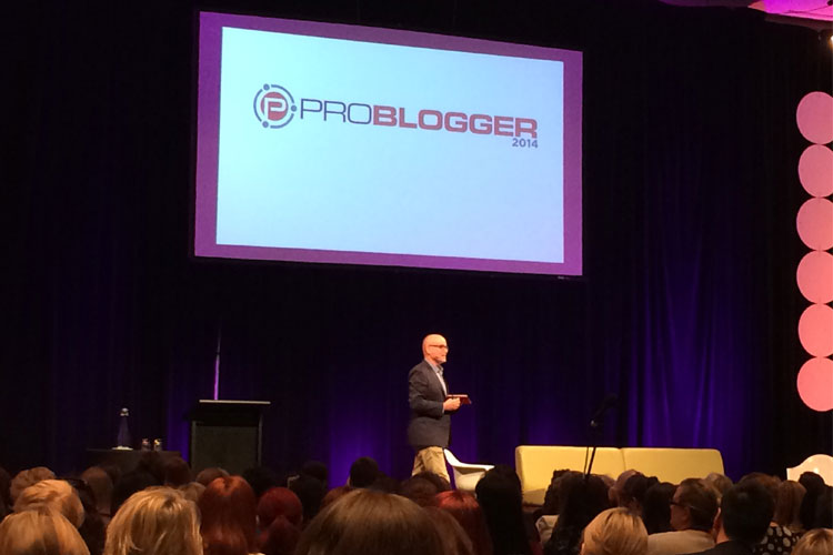 Darren Rowse Welcome Problogger