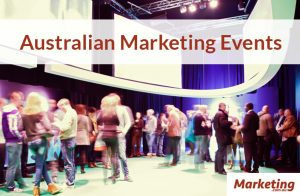 Upcoming Australian Marketing Events