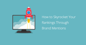 Rocket and Computer - Skyrocket Brand Mentions