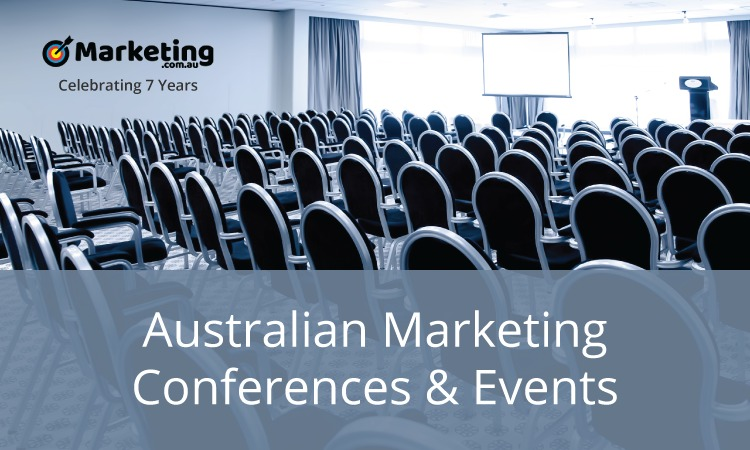 Australian Marketing Conferences and Events – August 2019