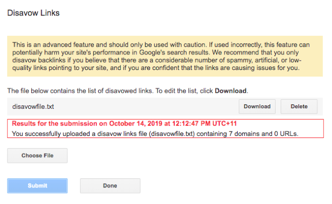 A Complete Guide To Google's Disavow Tool