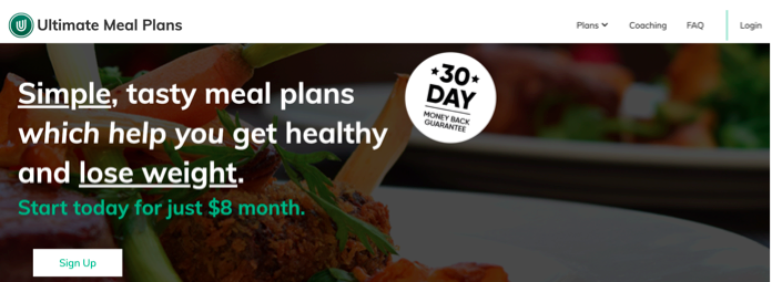 Building Credible Health And Wellness Brands Ultimate Meal plan